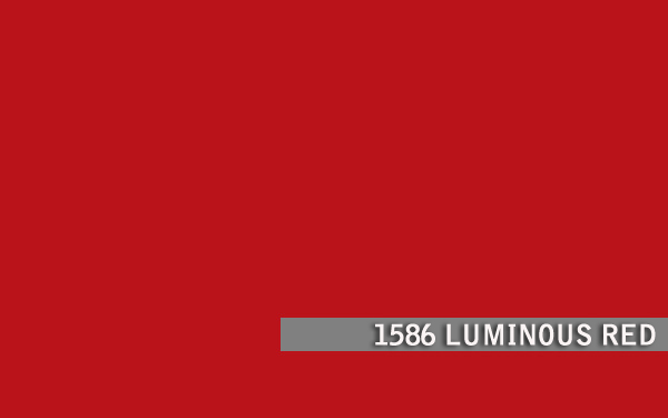 1586 LUMINOUS RED