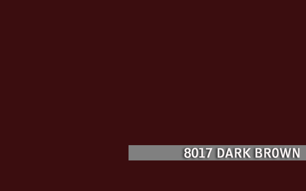 8017 DARK BROWN